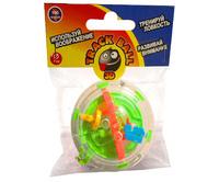 3D Лабиринт,Тrack ball 3d- брелок.