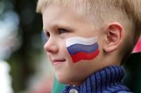 """Мелок для грима """"Российский флаг"""""""