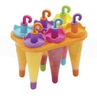 Формочки для фруктового льда и мороженого Зонтики