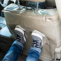 Защита автомобильного сидения от ног