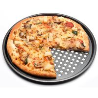 Форма для пиццы перфорированная