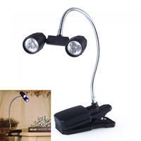 Светодиодный гибкий светильник на прищепке
