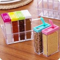 Набор контейнеров для специй Seasoning six-piec set 6 в 1
