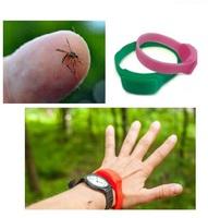 Силиконовый браслет от комаров с маслом цитронеллы