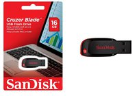 USB Flash накопитель SanDisk Cruzer BLADE 16Gb