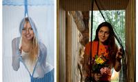 Антимоскитная Дверная сетка - штора на магнитах - для дачи, балкона